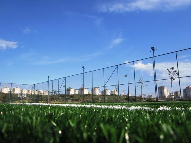 muş spor sahası çit